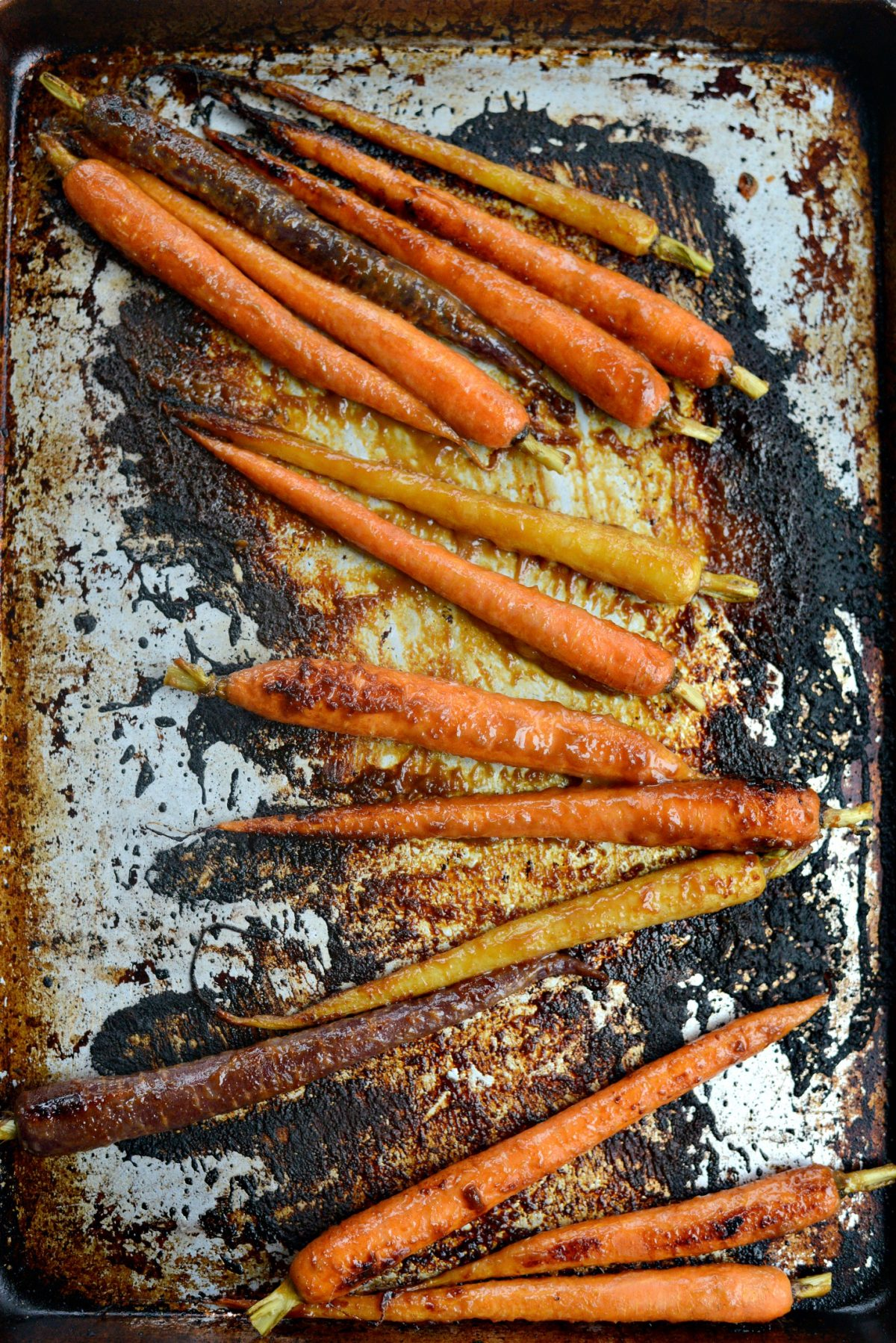 Miso Honey Glazed Whole Roasted Carrots l SimplyScratch.com (16)