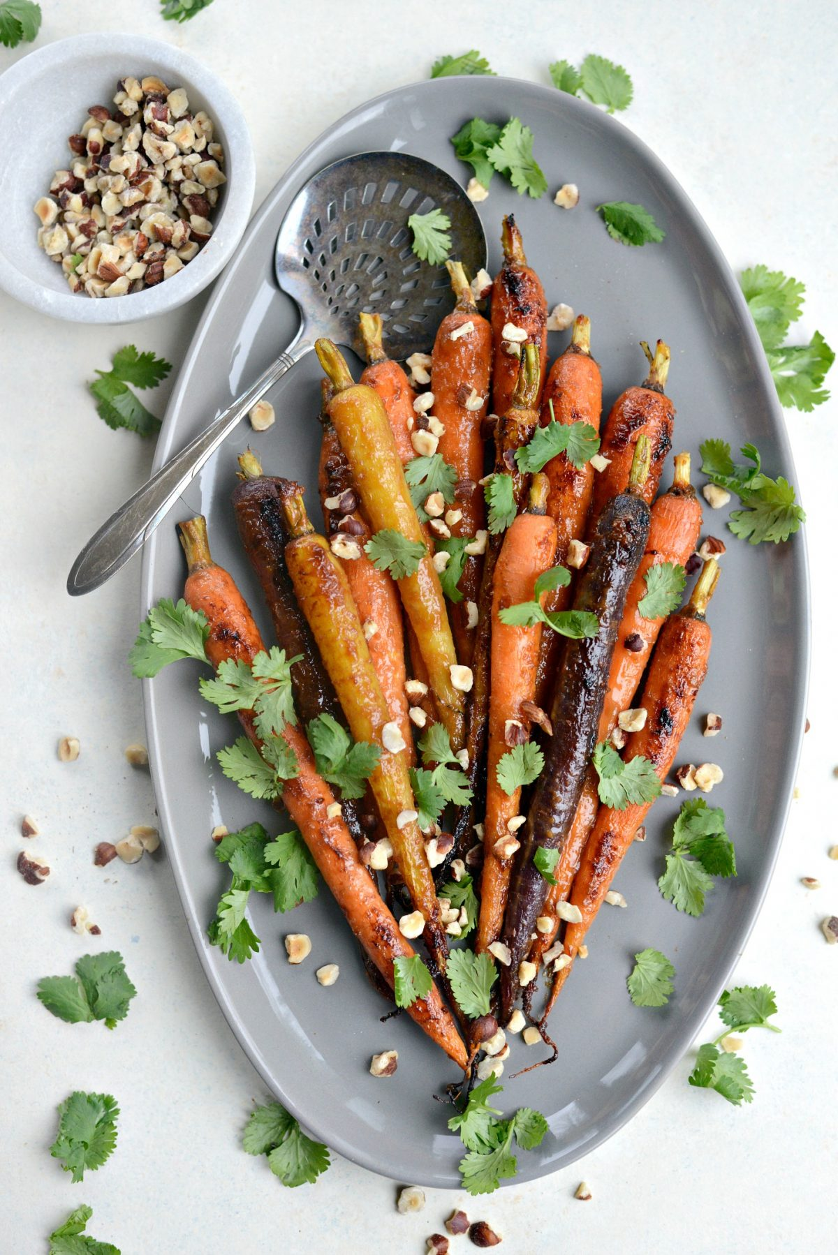 Miso Honey Glazed Whole Roasted Carrots l SimplyScratch.com (8)