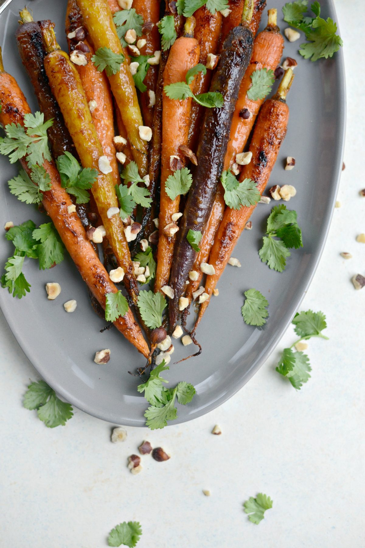 Miso Honey Glazed Whole Roasted Carrots l SimplyScratch.com (9)
