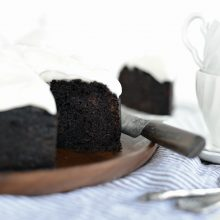 Nigella's Chocolate Guinness Cake (16)