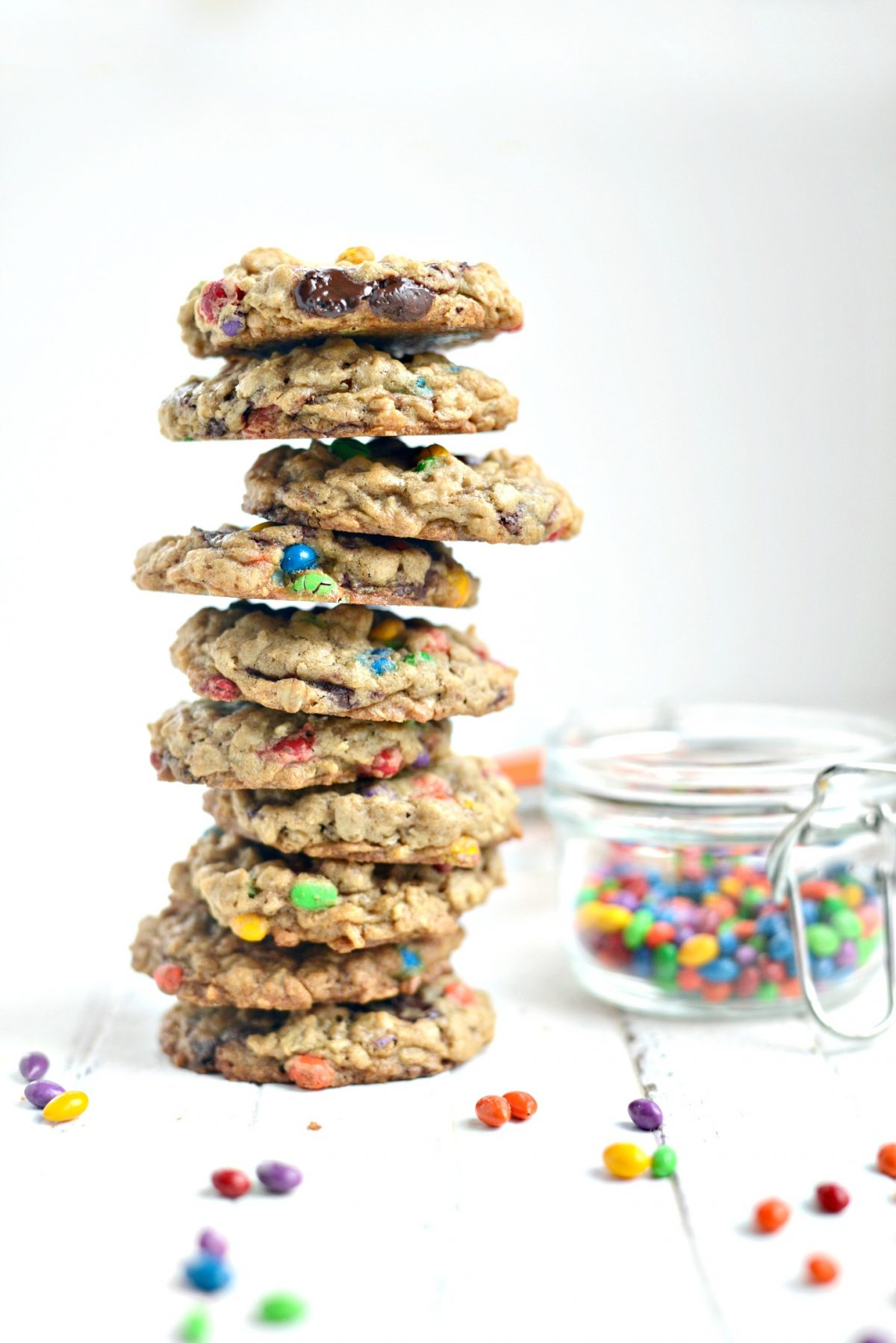 Oatmeal Chocolate Chunk Sunflower Seed Cookies