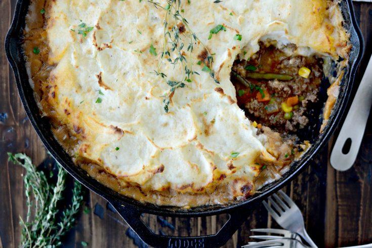 Simple Skillet Shepherd's Pie