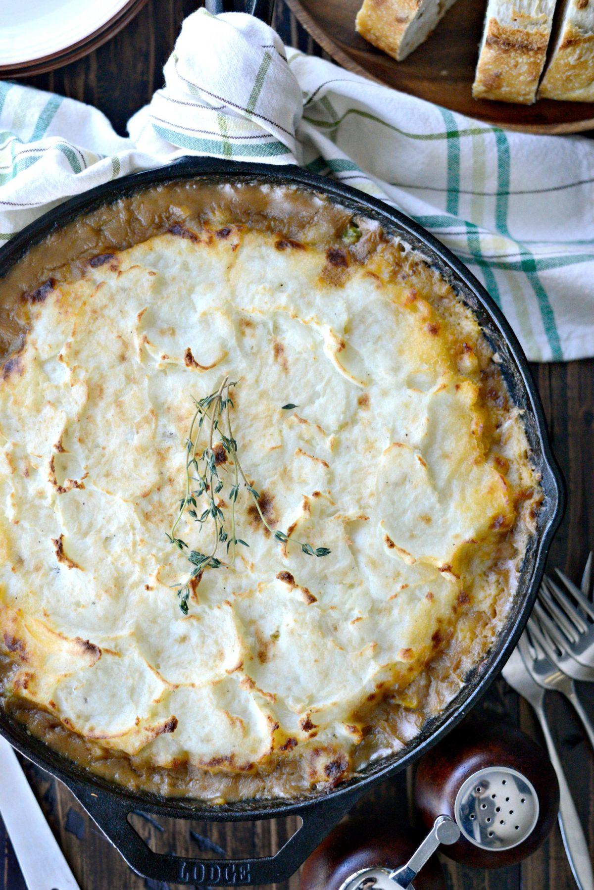 Skillet Shepherd's Pie l SimplyScratch.com