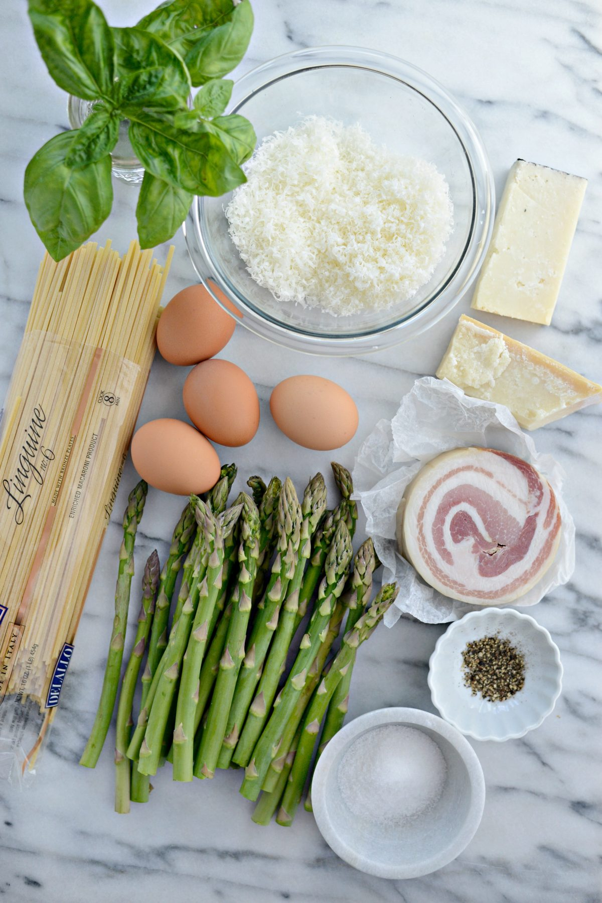 Pancetta Asparagus Carbonara l SimplyScratch.com (1)