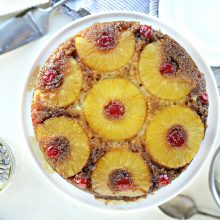 Pineapple Upside Down Cake l SimplyScratch.com (0015)