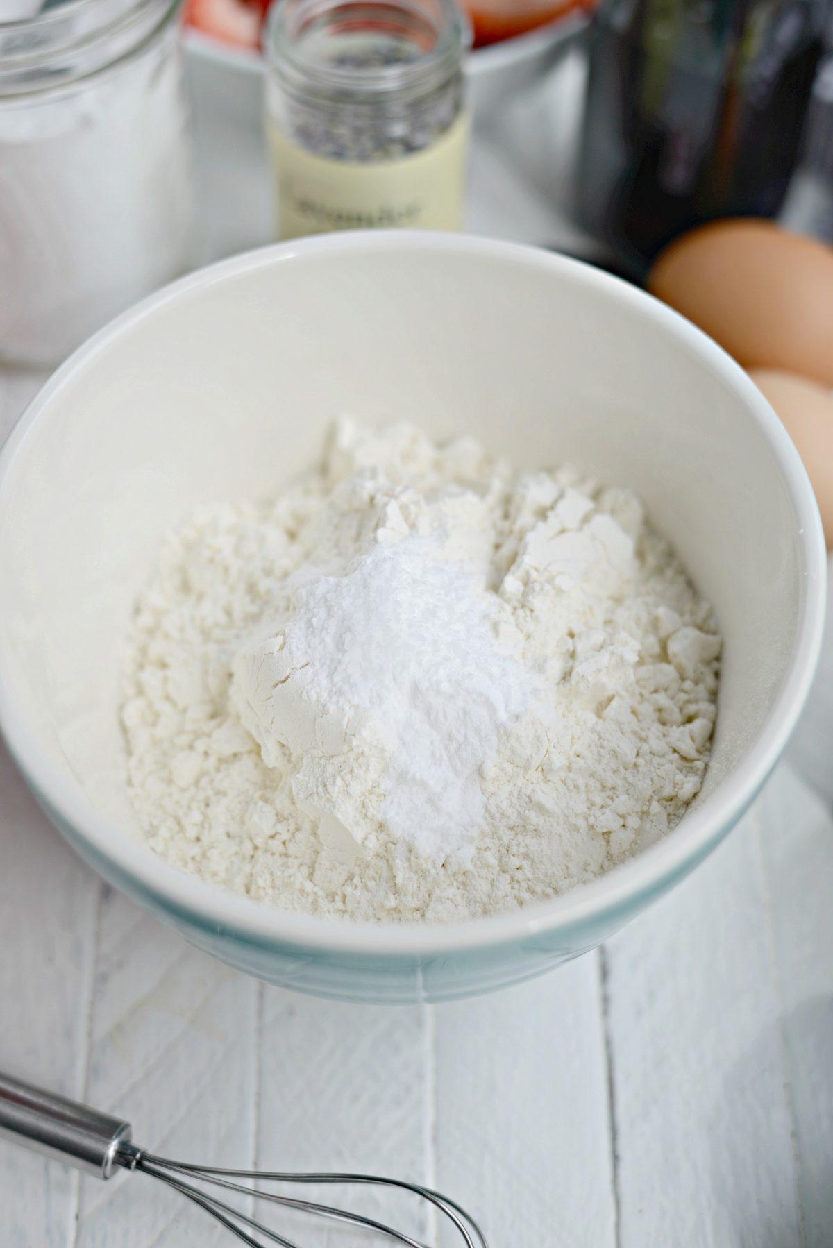 dry ingredients.
