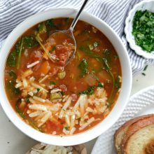 Tomato Florentine Soup with Rice l SimplyScratch.com (12)