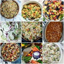 25 Best Salads and Side Dishes To Bring To A Barbecue l SimplyScratch.com