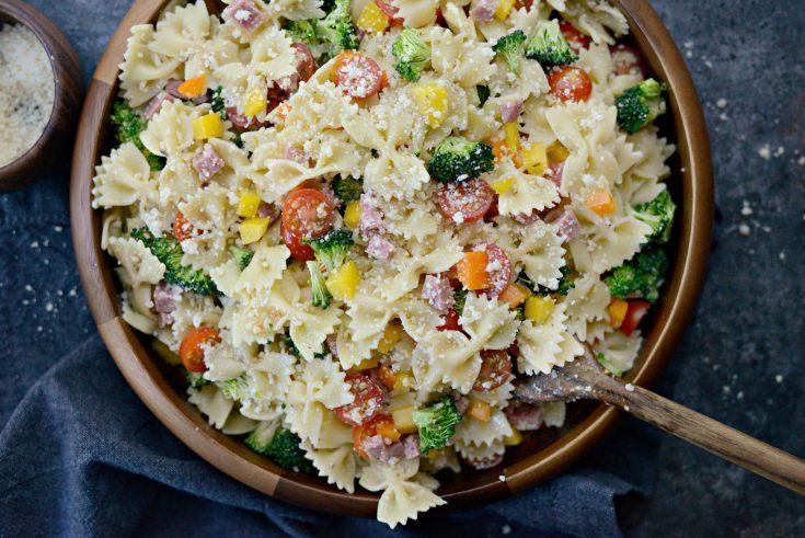 Italian Bowtie Pasta Salad