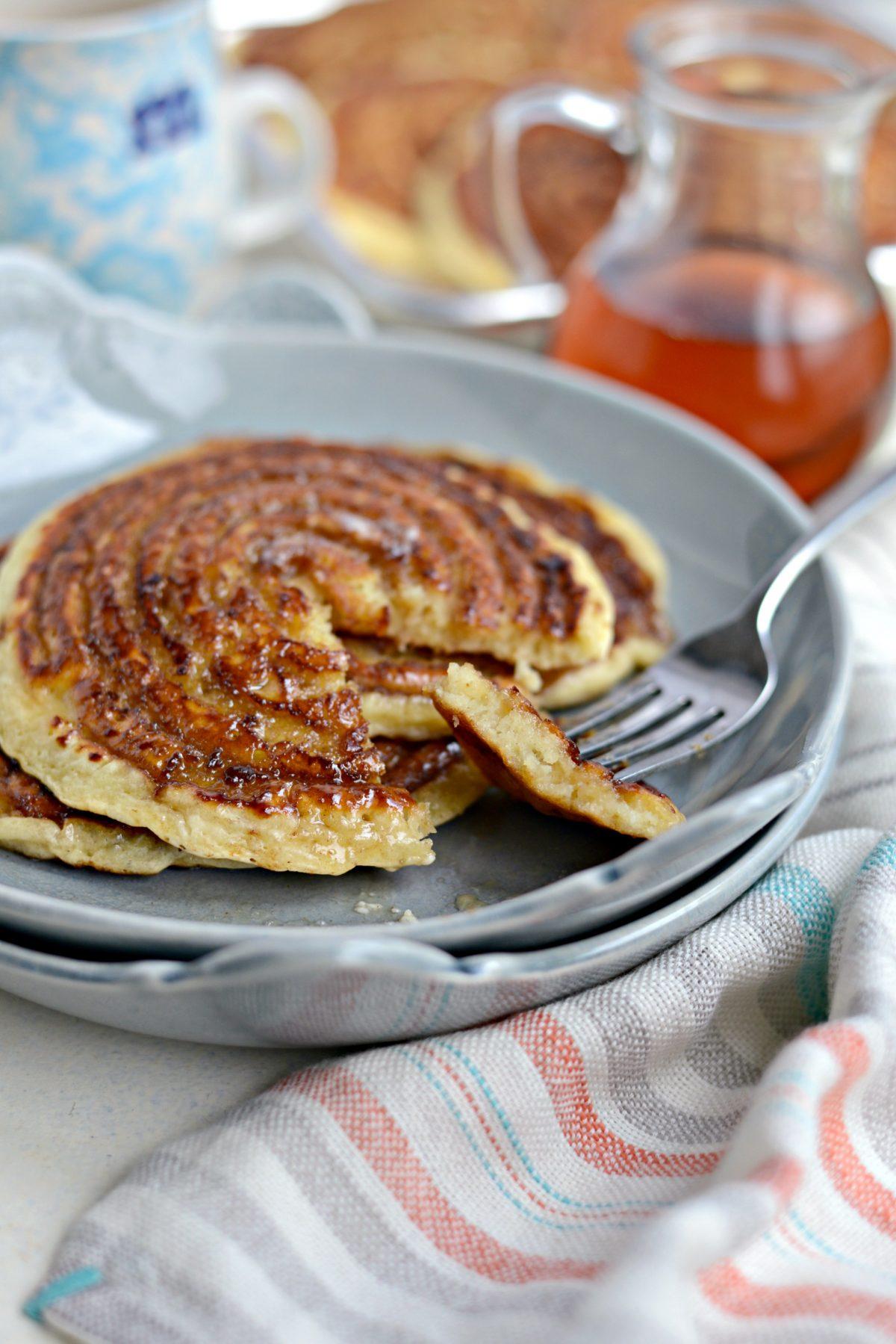 Cinnamon Swirl Pancakes l SimplyScratch.com (21)