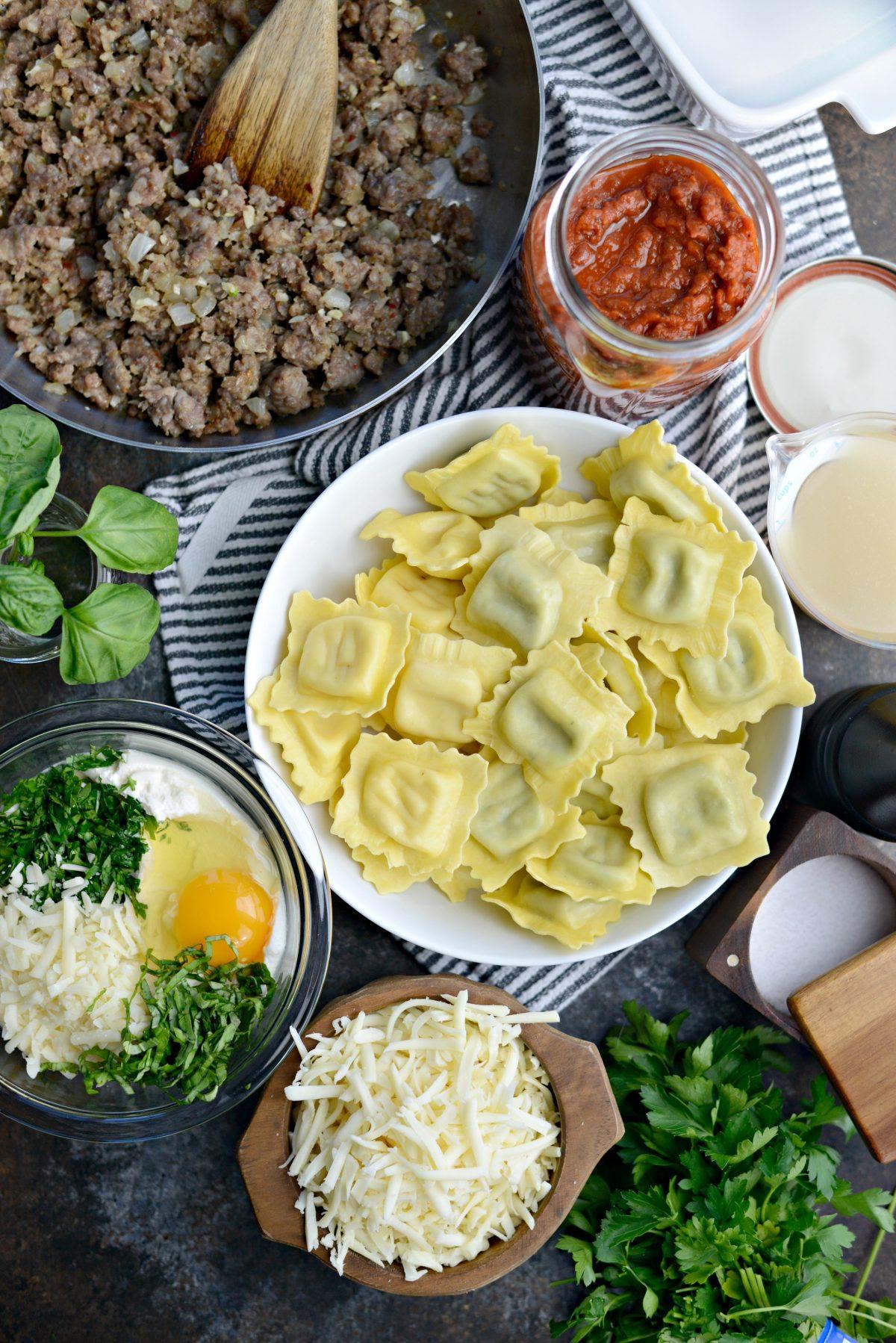 Easy Ravioli Lasagna l SimplyScratch.com (1)