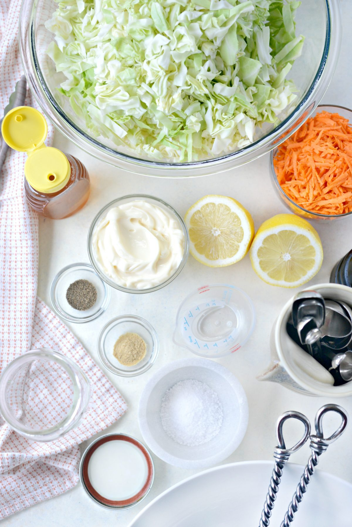 Classic Coleslaw Recipe with Homemade Dressing l SimplyScratch.com (1)