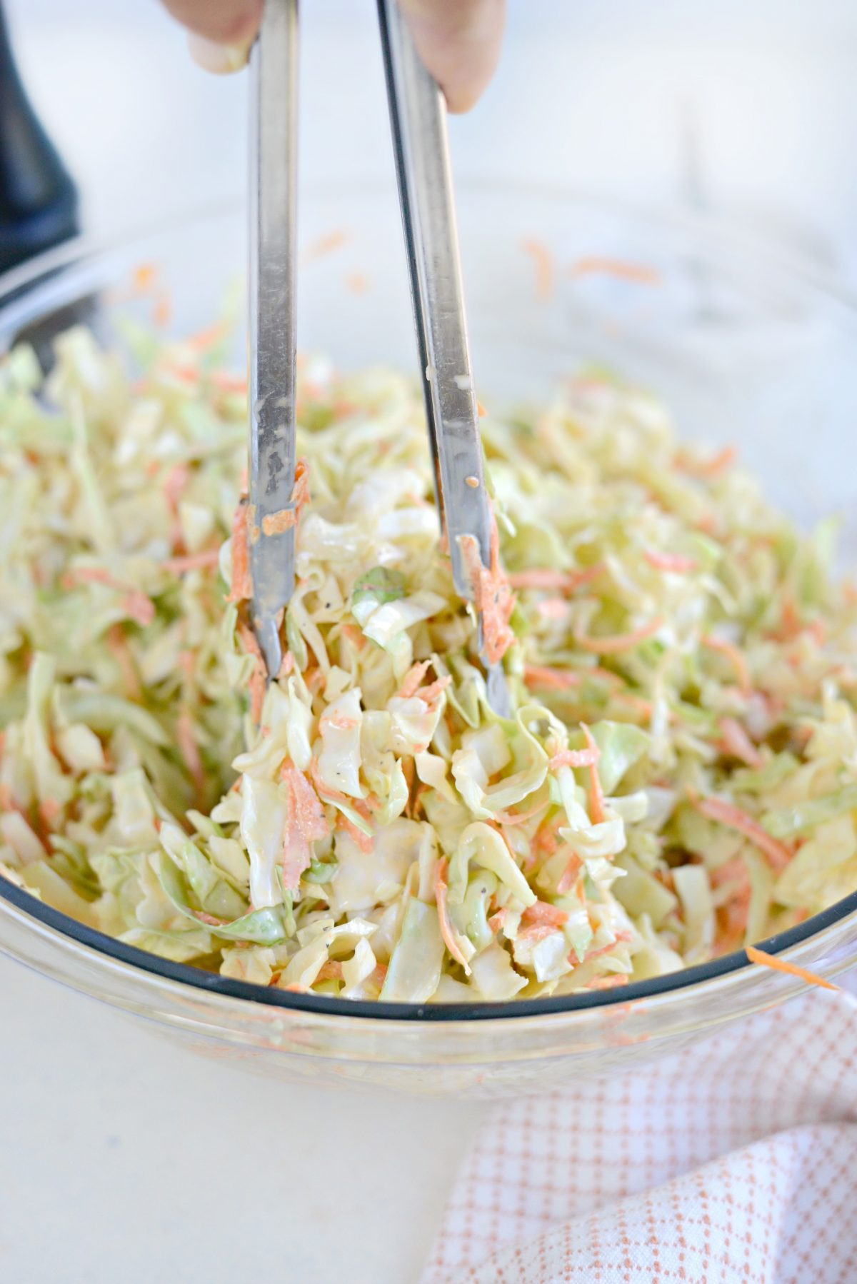 Classic Coleslaw Recipe with Homemade Dressing l SimplyScratch.com (10)