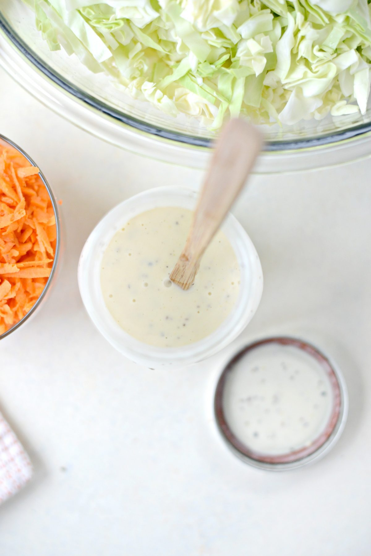 Classic Coleslaw Recipe with Homemade Dressing l SimplyScratch.com (6)