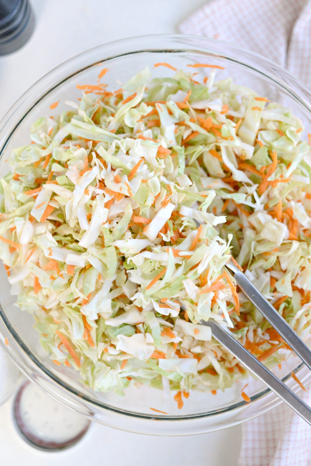 Classic Coleslaw Recipe with Homemade Dressing l SimplyScratch.com (8)