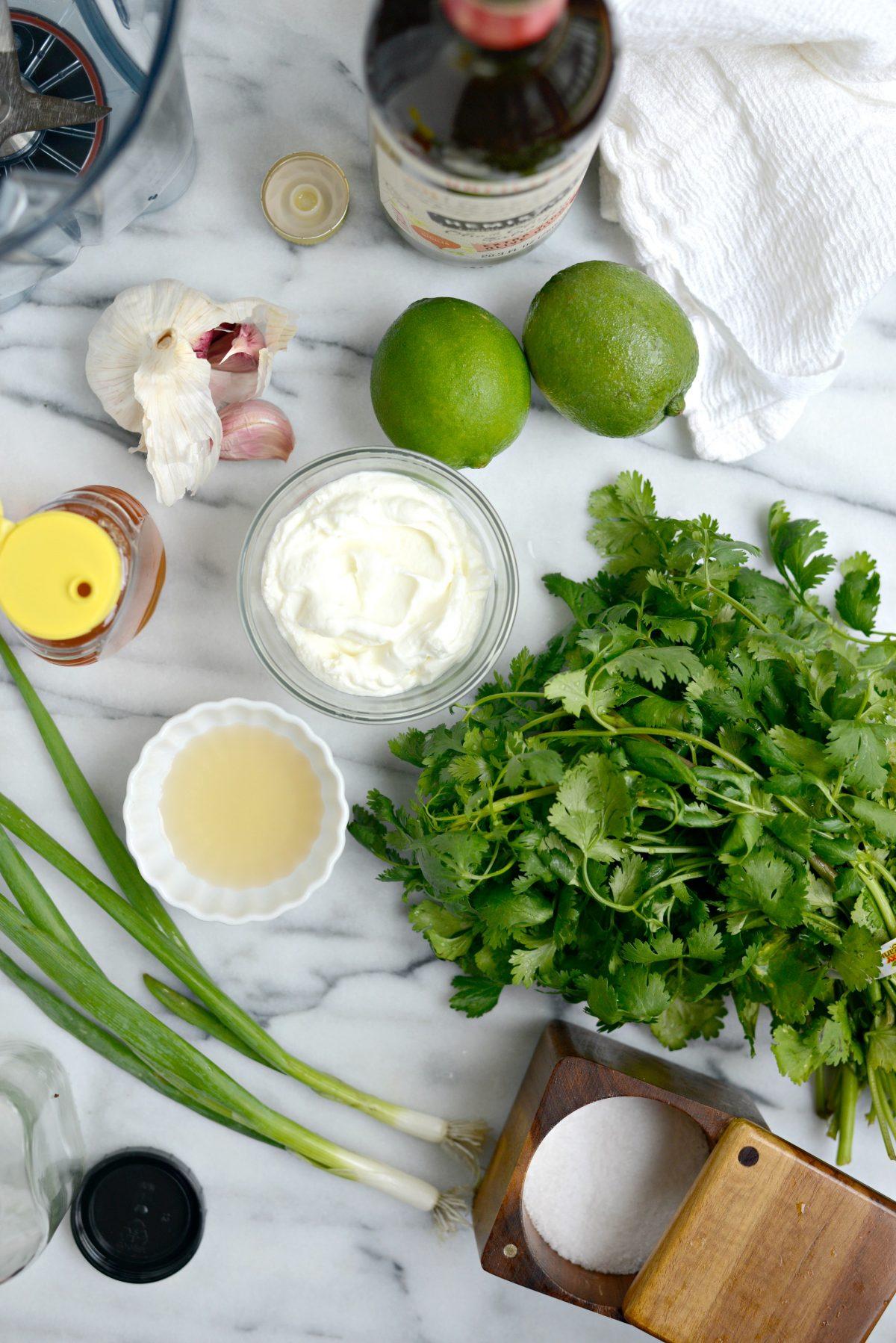 Creamy Cilantro Lime Dressing l SimplyScratch.com (1)