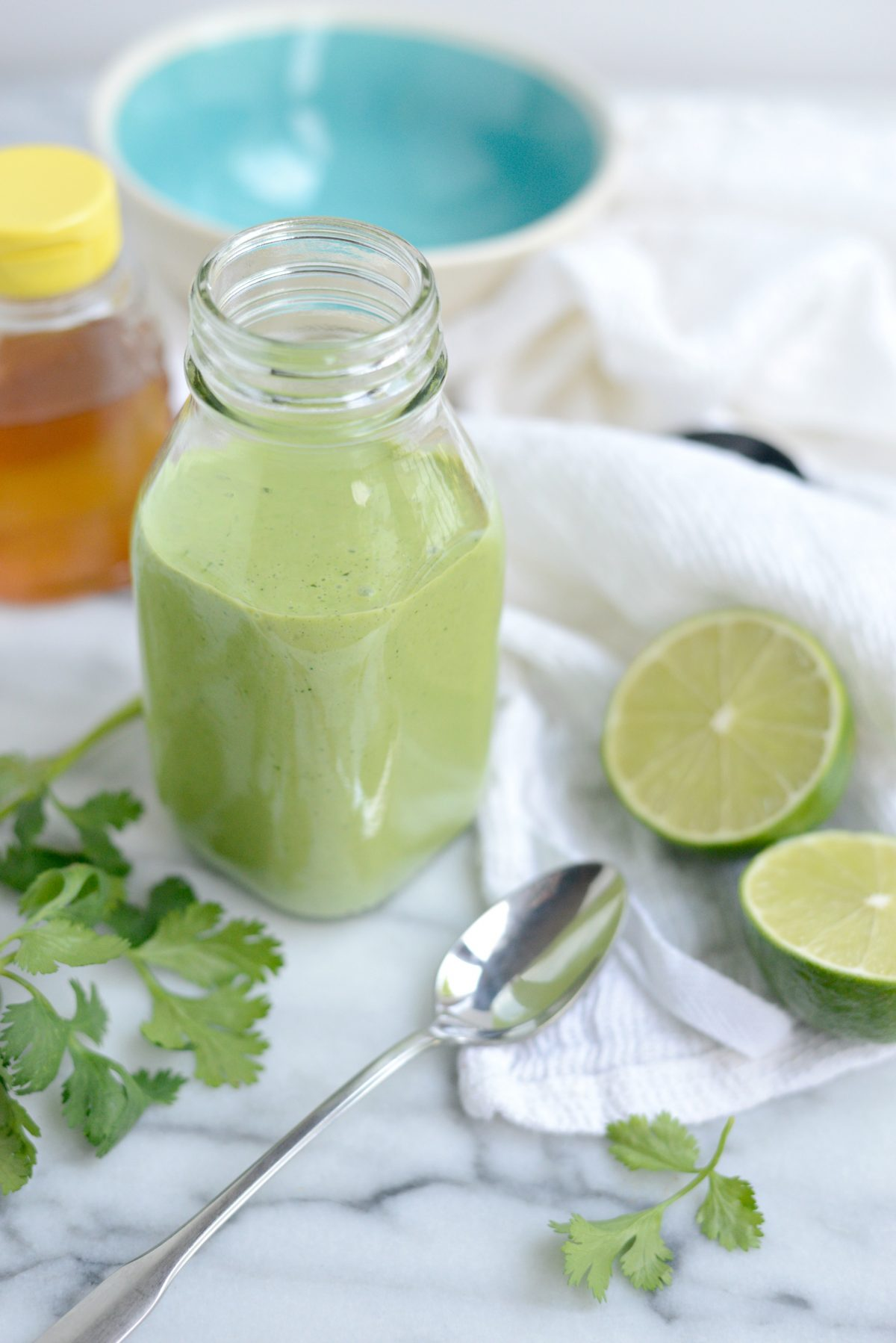 Creamy Cilantro Lime Dressing l SimplyScratch.com (12)