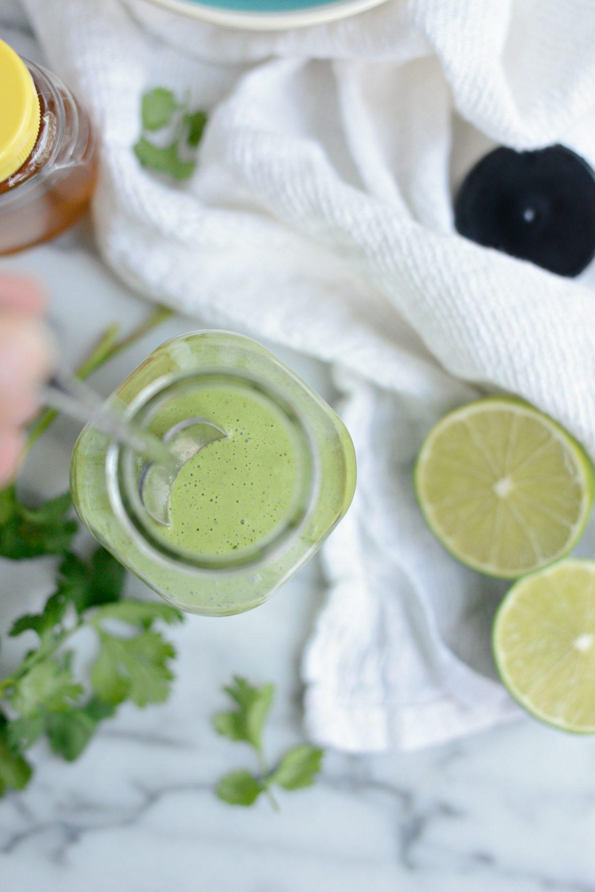Creamy Cilantro Lime Dressing l SimplyScratch.com (13)