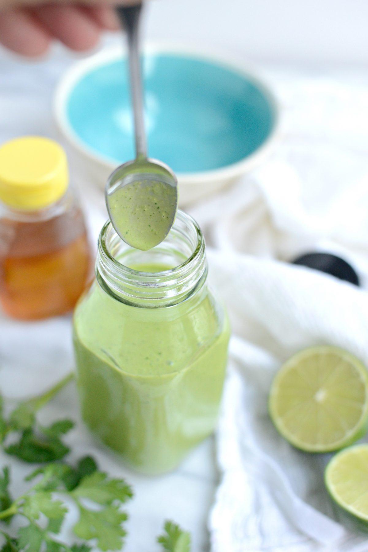 Creamy Cilantro Lime Dressing l SimplyScratch.com (14)