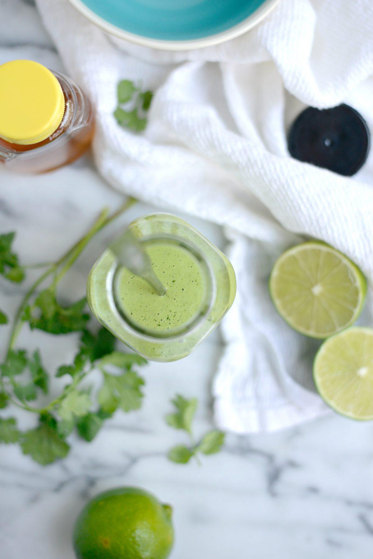 Creamy Cilantro Lime Dressing l SimplyScratch.com (16)