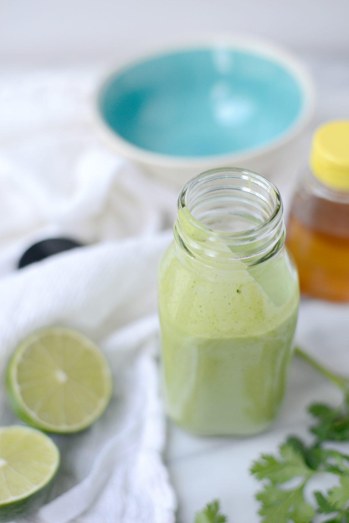 Creamy Cilantro Lime Dressing l SimplyScratch.com (18)