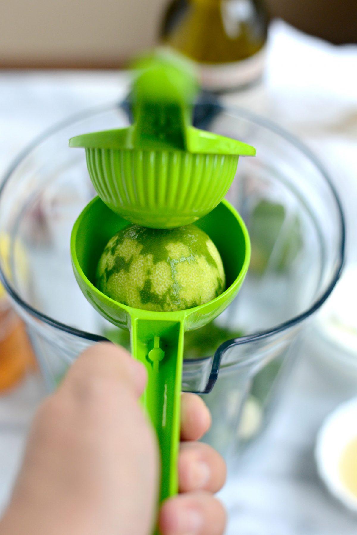 Creamy Cilantro Lime Dressing l SimplyScratch.com (4)
