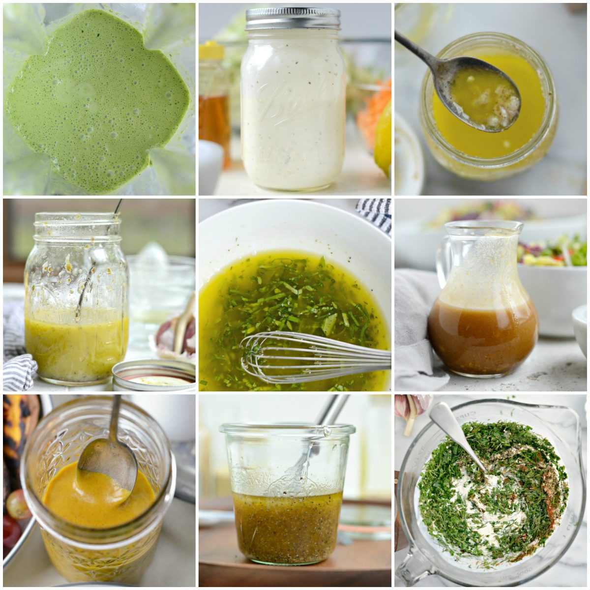 Homemade Salad Dressings and Vinaigrette Recipes