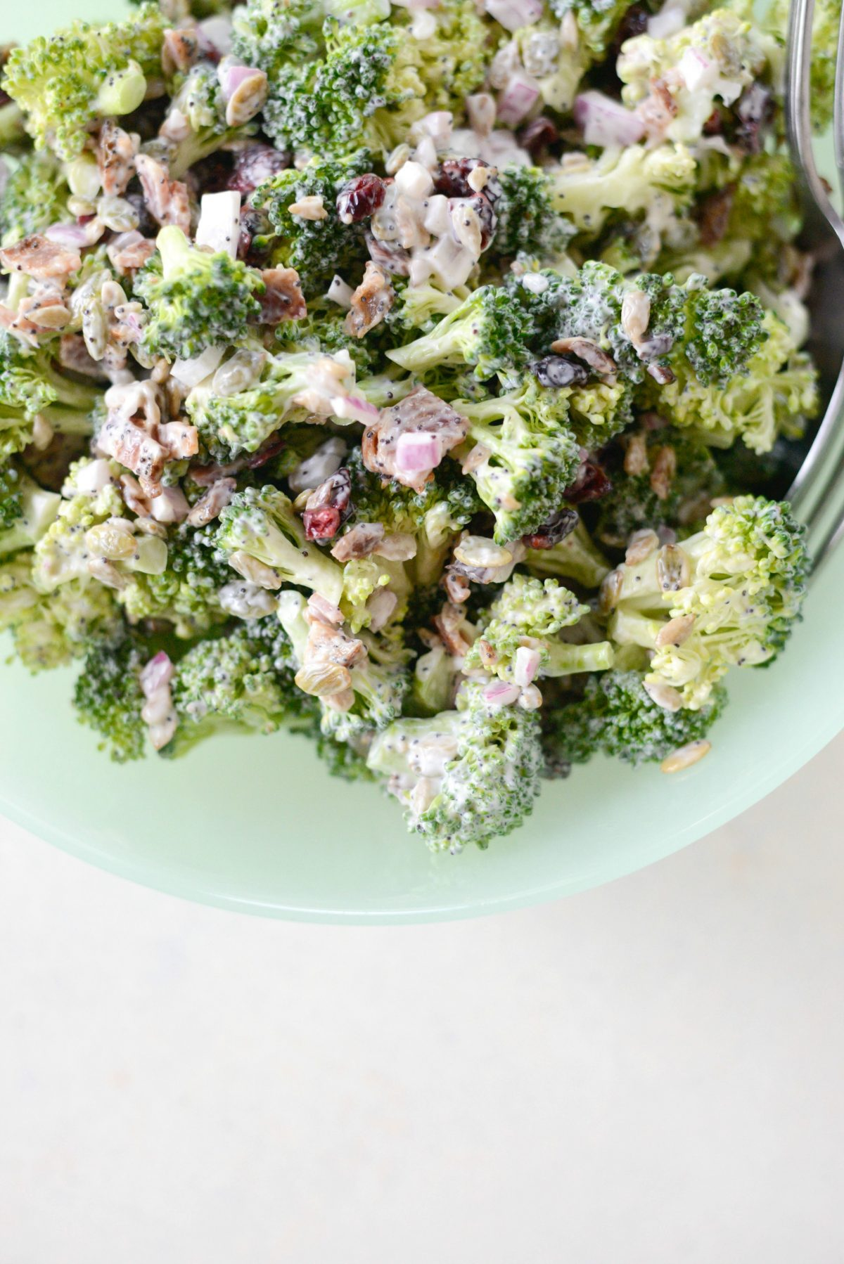 Broccoli Crunch Salad l SimplyScratch.com (7)
