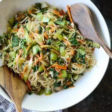 Chinese Vegetable Noodle Stir-Fryl SimplyScratch.com (9)