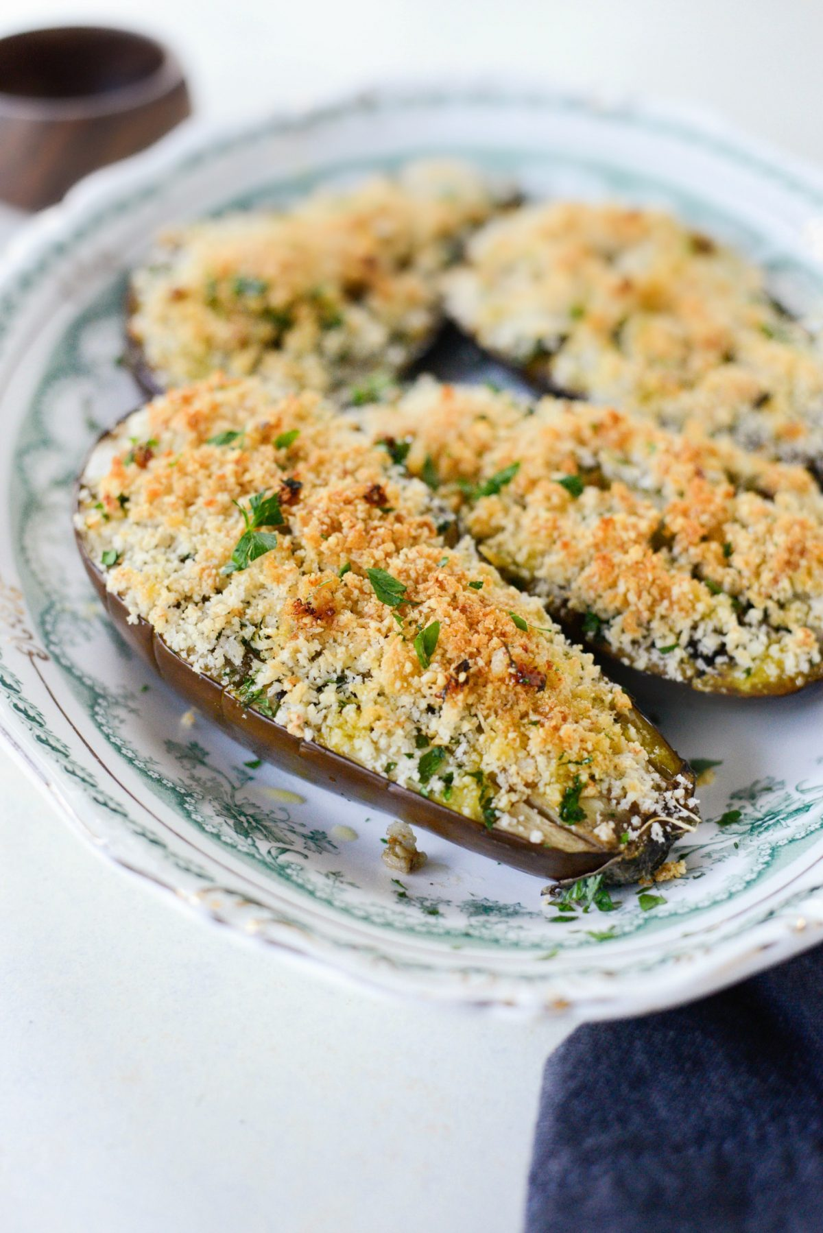Baked Eggplant with Pecorino Crumbs l SimplyScratch.com (7)
