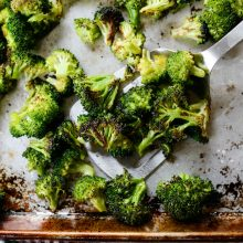 The Best 10-Minute Roasted Broccoli Recipe l SimplyScratch.com (12)
