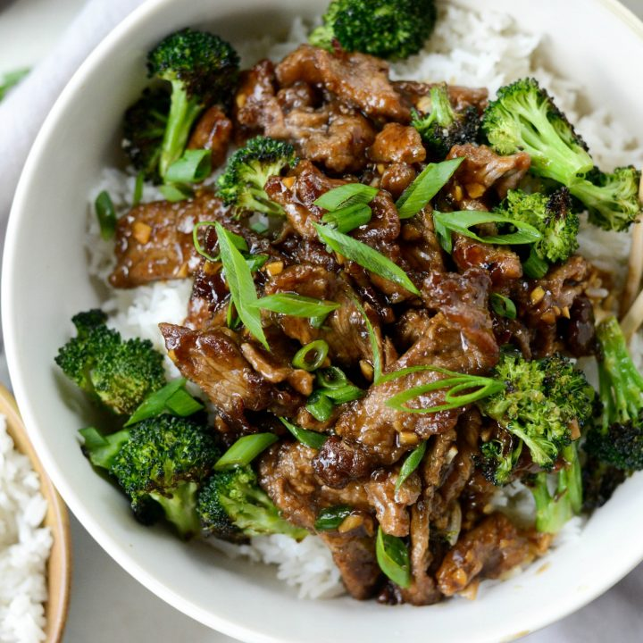 Weeknight Mongolian Beef Stir Fry Simply Scratch