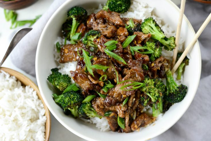 Weeknight Mongolian Beef Stir Fry Simply Scratch