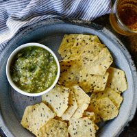 Easy Salsa Verde Recipe (Tomatillo Salsa)