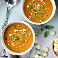 Roasted Tomato Pumpkin Soup