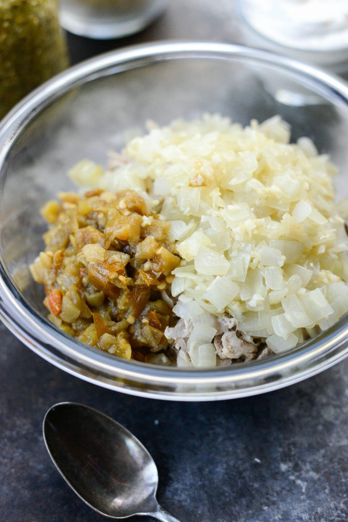 Salsa Verde Chicken Tortilla Casserole l SimplyScratch.com (001)