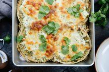 Salsa Verde Chicken Tortilla Casserole l SimplyScratch.com (11)