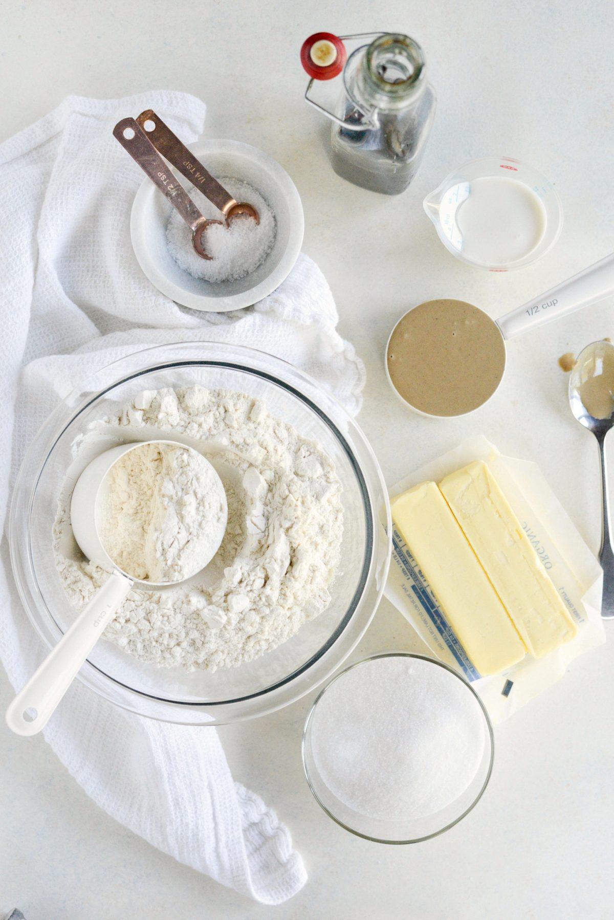 Tahini Shortbread Cookies l SimplyScratch.com (1)