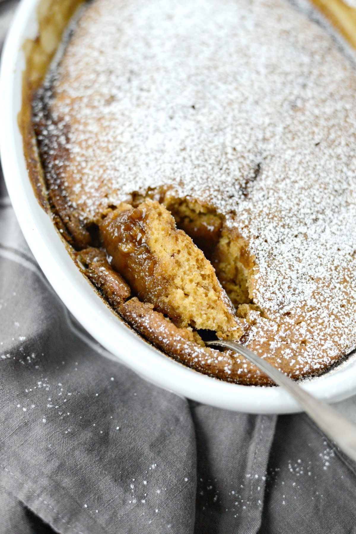 Warm Pumpkin Pudding Cake l SimplyScratch.com (12)