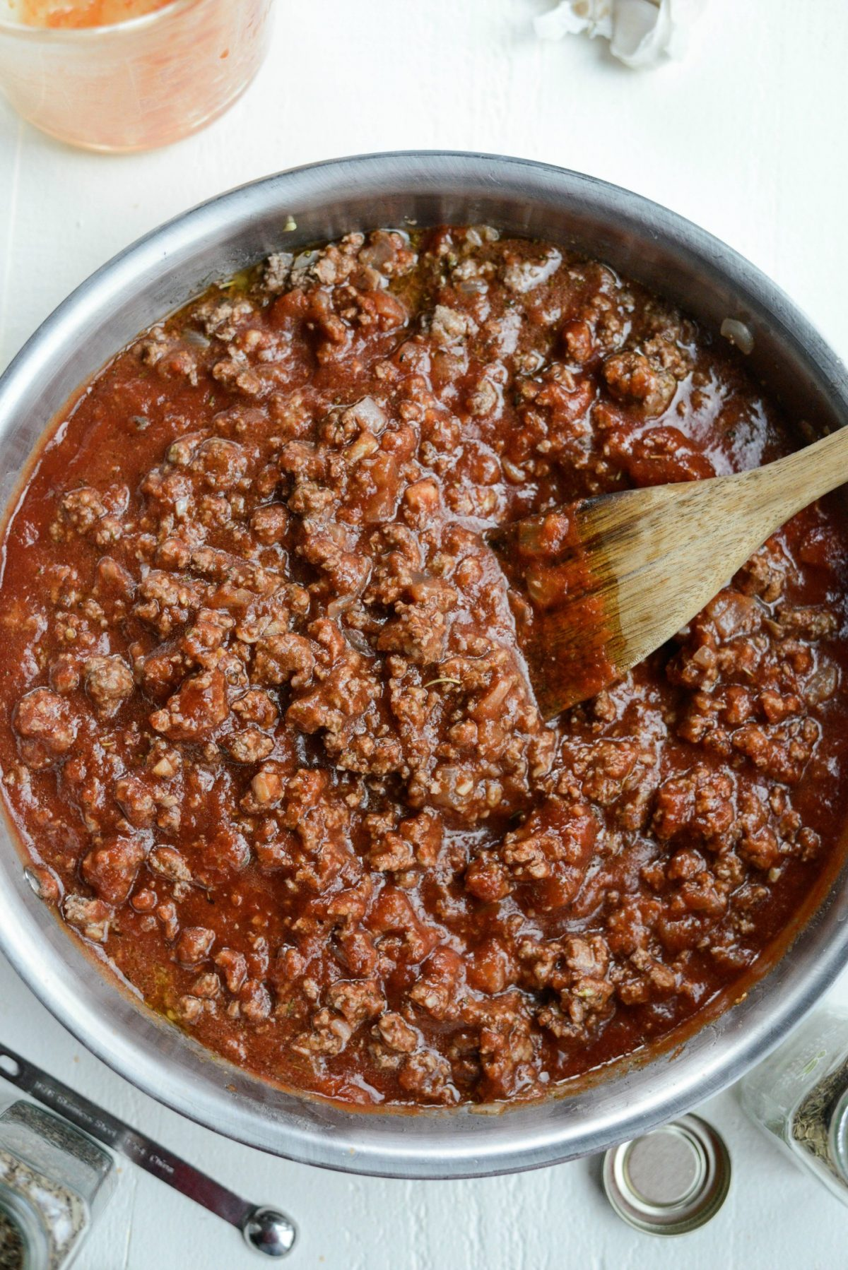 Best Basic Meat Sauce Recipe l SimplyScratch.com (6)