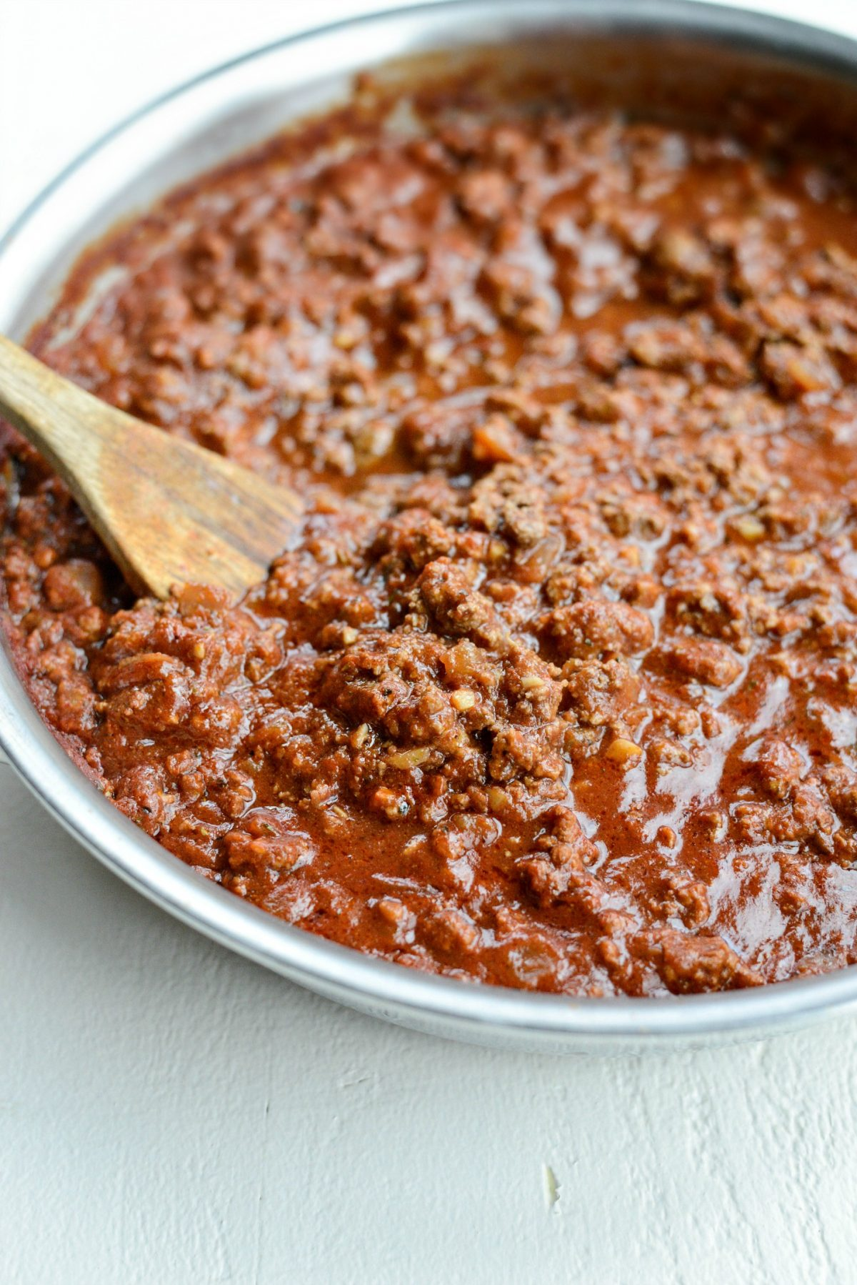 Best Basic Meat Sauce Recipe l SimplyScratch.com (8)