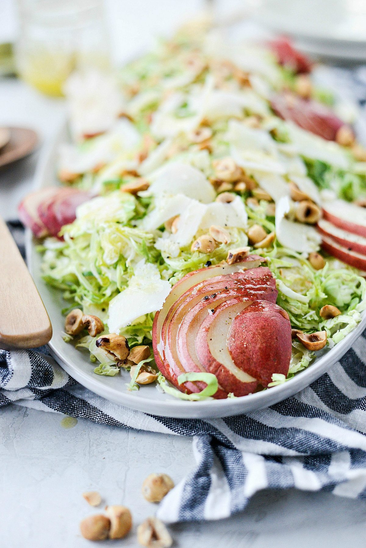Shaved-Brussels-Sprout-Salad-with-Pear-Parmesan-and-Hazelnuts-l-SimplyScratch.com-14