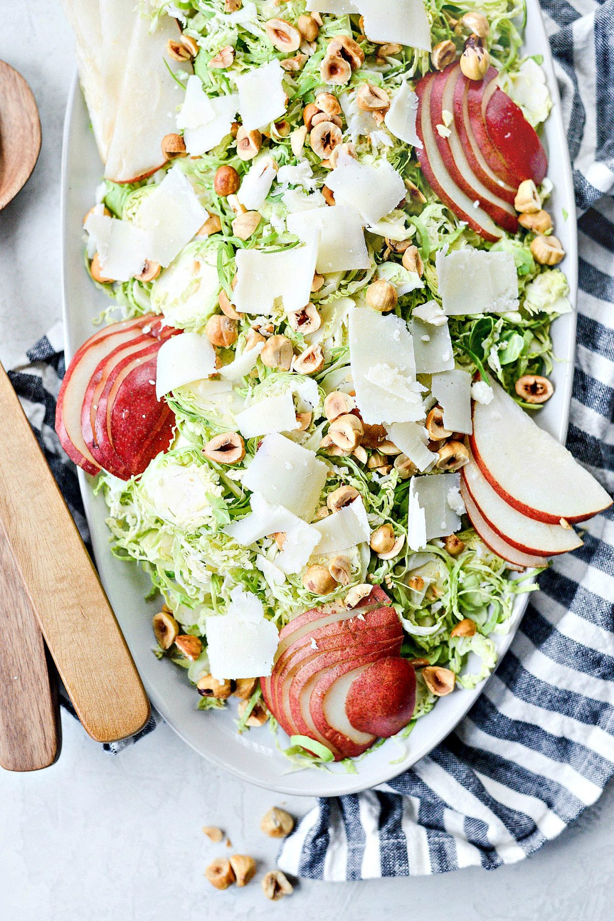 Shaved-Brussels-Sprout-Salad-with-Pear-Parmesan-and-Hazelnuts-l-SimplyScratch.com-8