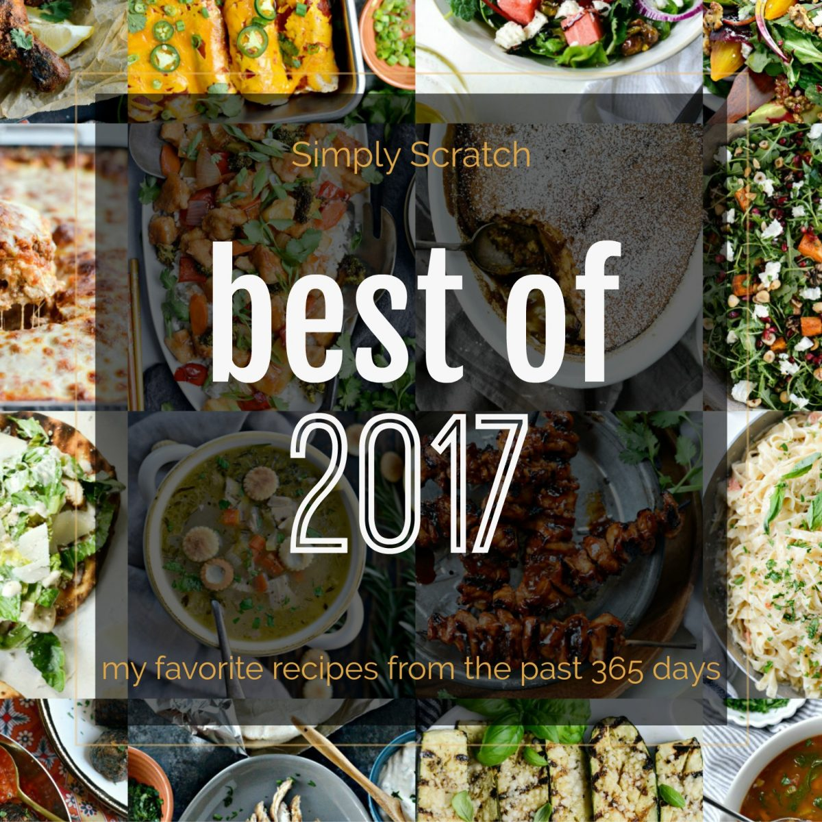 2017: A Year In Review l SimplyScratch.com