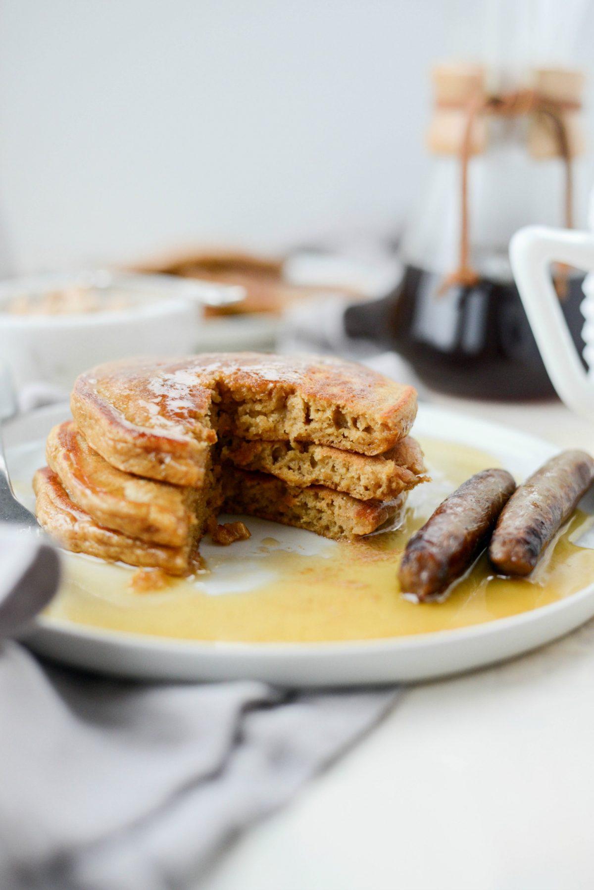 Gingerbread Pancakes l SimplyScratch.com (24)