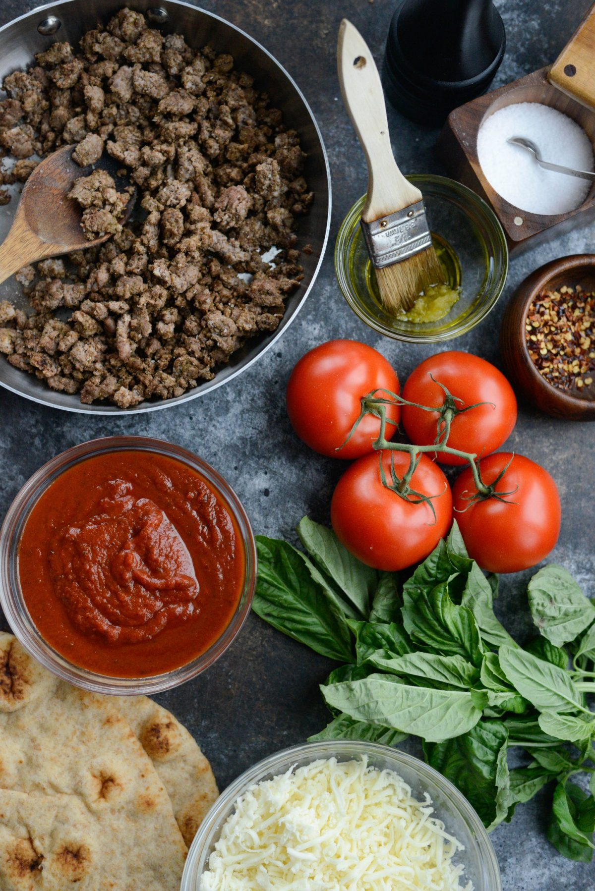 Lebanese Margherita Lamb Pizza l SimplyScratch.com (1)