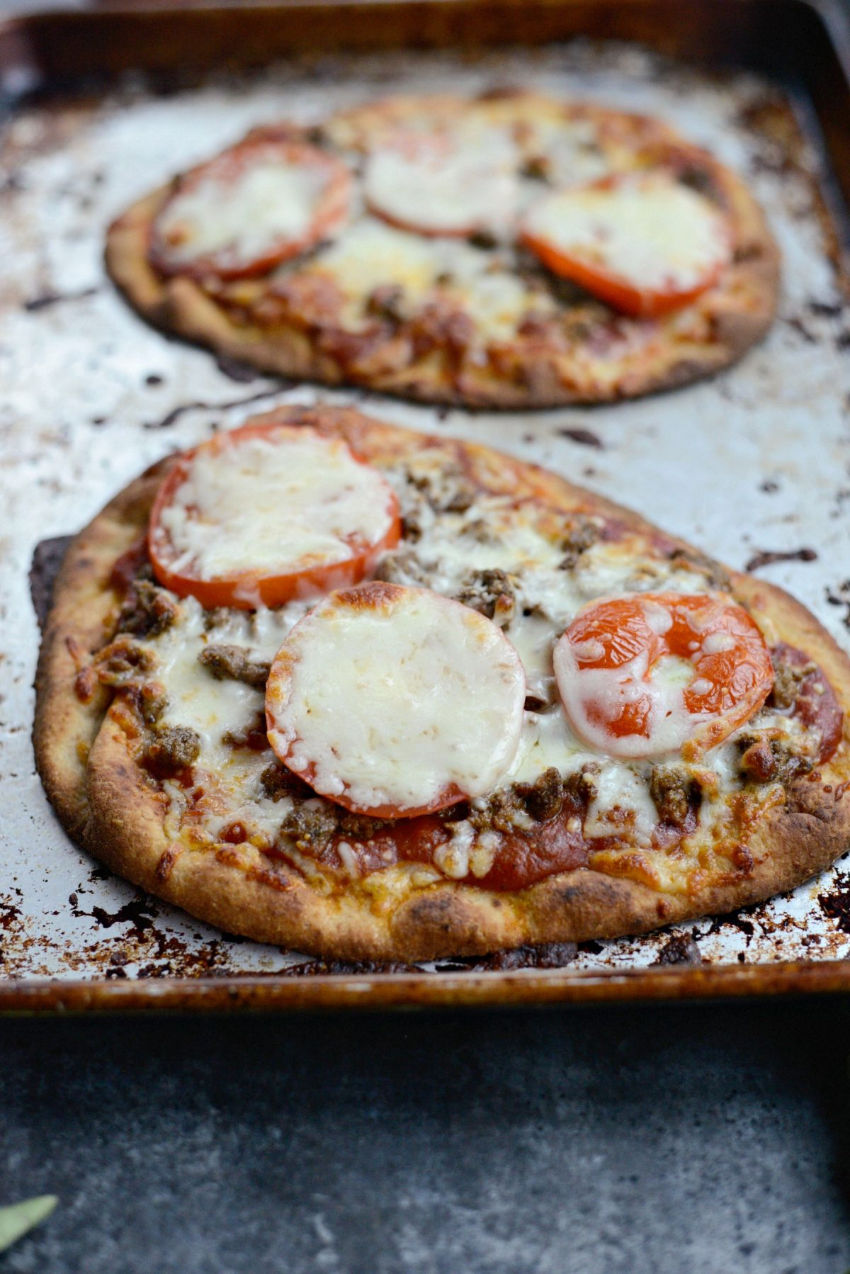 Lebanese Margherita Lamb Pizza l SimplyScratch.com (10)