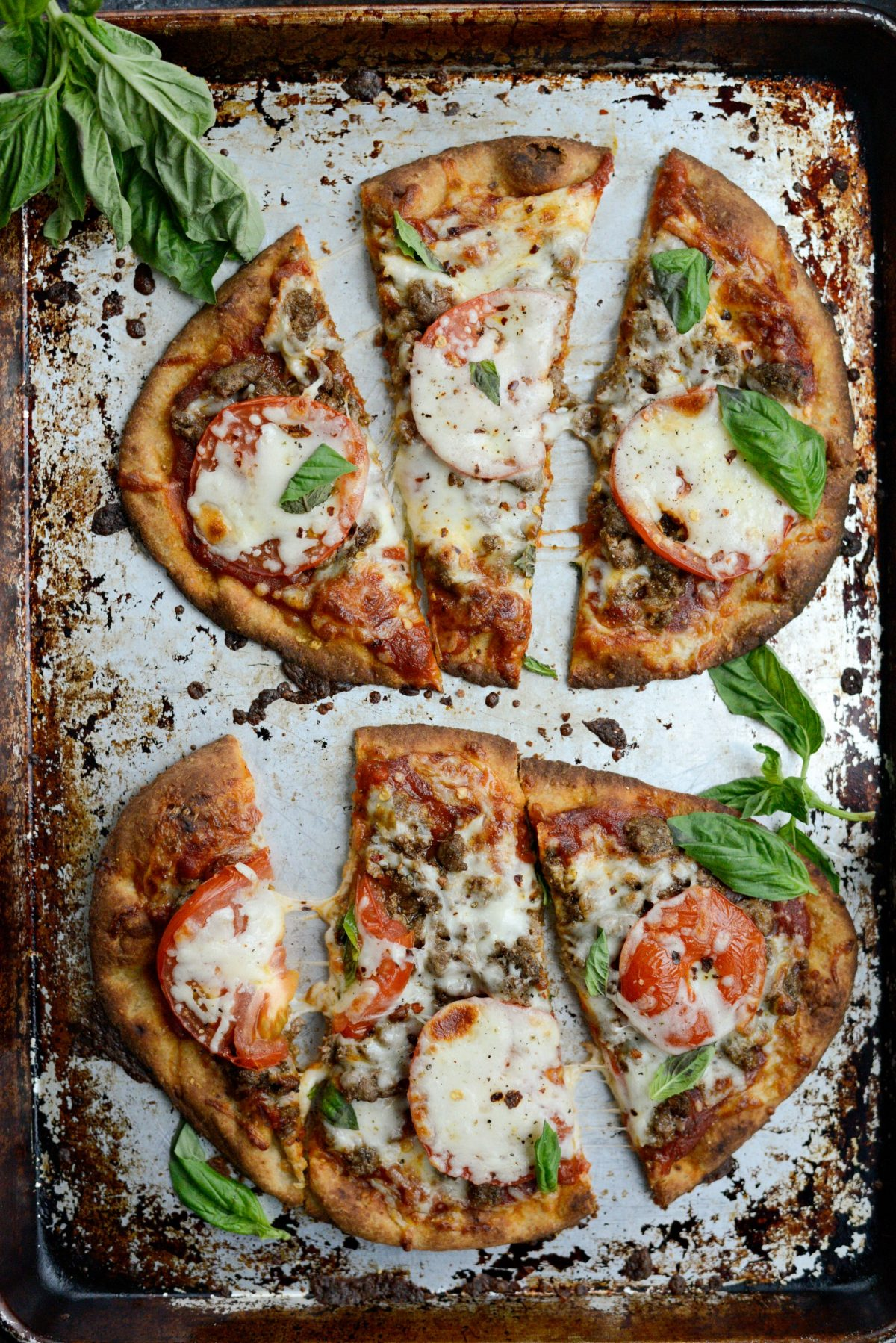 Lebanese Margherita Lamb Pizza l SimplyScratch.com (13)