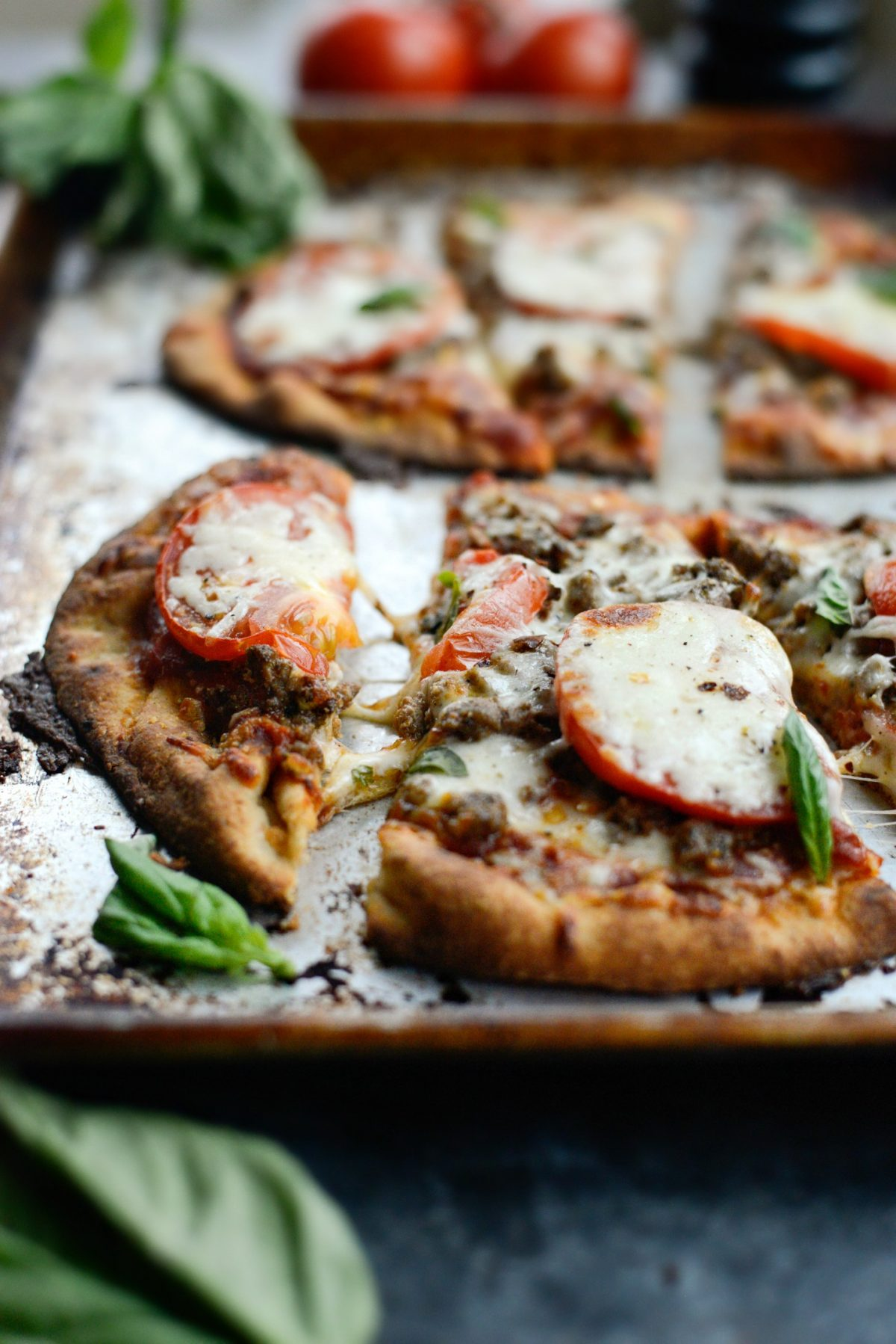 Lebanese Margherita Lamb Pizza l SimplyScratch.com (16)