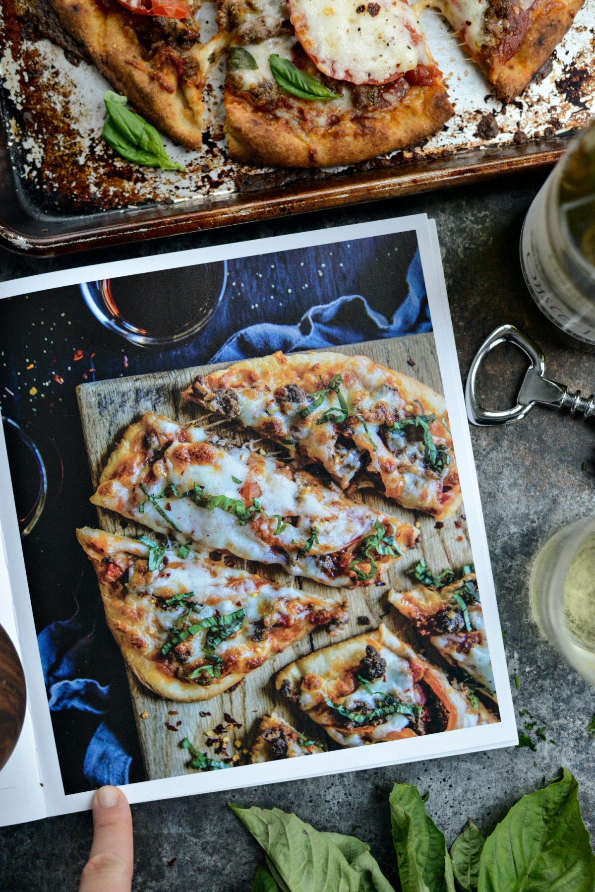 Lebanese Margherita Lamb Pizza l SimplyScratch.com (20)